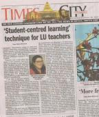 In India, Building English Fluency with Newspapers
