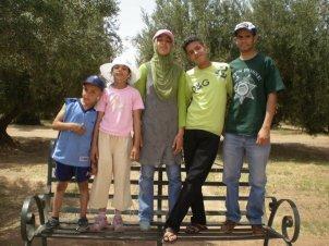 Family Trip to Marrakesh 1 - La Menara