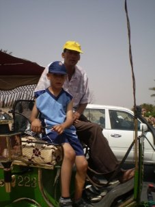 Family Trip to Marrakesh 3 - Ibrahim and the driver