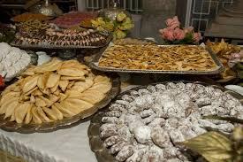 food at wedding